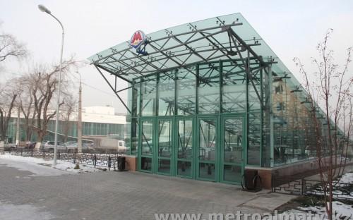 Вход на станцию «Байконыр»