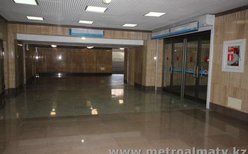 Коридор на станции Алмалы